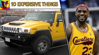 10 Expensive Things Owned By Basketball Player LeBron James 💵 💰 💎