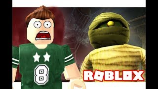 face the mummy of Pharaoh pyramids in the roblox game!