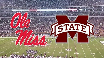 Ole Miss vs. #14 Mississippi St. | 2017 Highlights