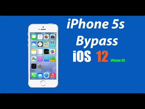 How To Bypass ICloud IPhone 5s IOS 12.4.5/12.4.6