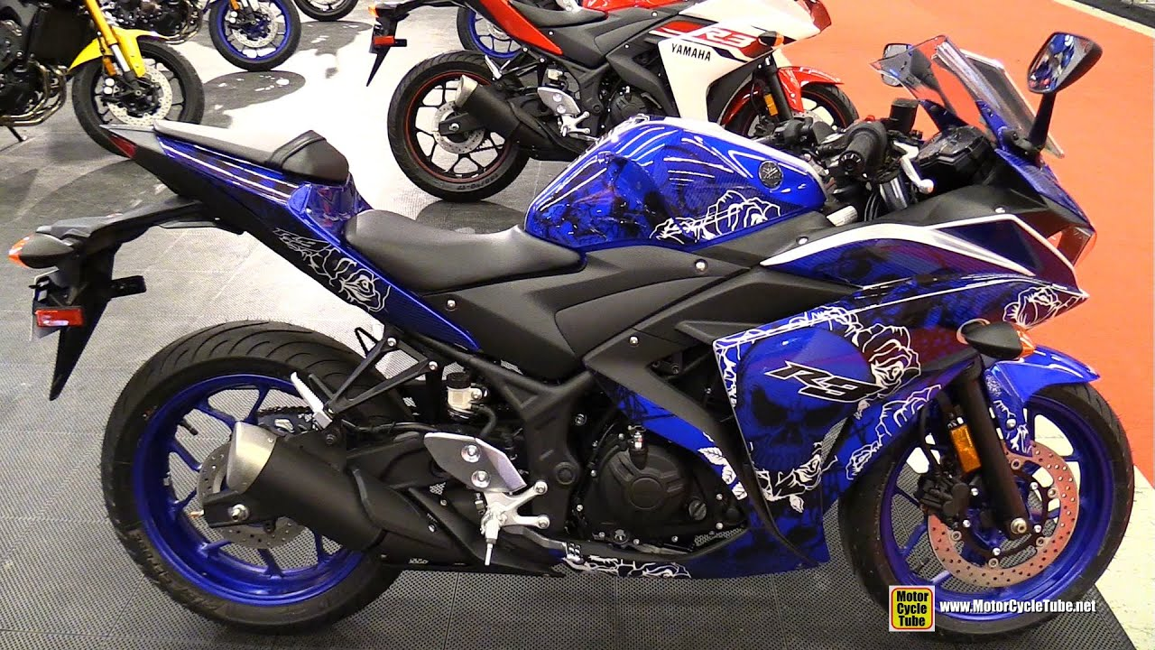 Yamaha R Custom Paint