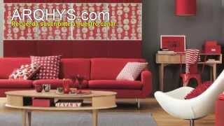 Decorar la sala con el color rojo. Ideas, consejos & tendencias... ¡Aprende ahora mismo...!