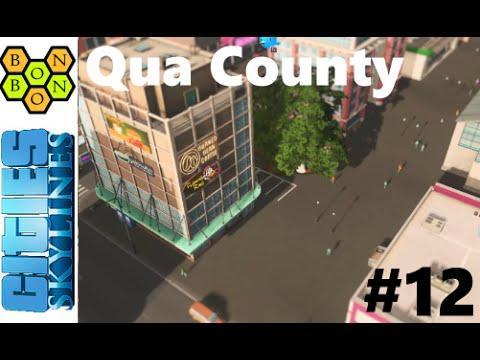 Cities Skylines: Qua County - Part 12 - Surface Painter Mod