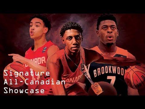 Signature All-Canadian Showcase Game Feat. RJ Barrett
