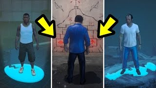 WHAT HAPPENS IF THEY STAND ON EACH MURAL? (GTA 5)