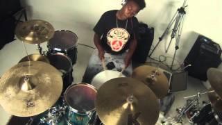 jazmyne evans   k camp comfortable drum cover
