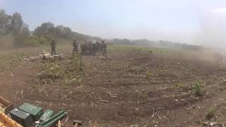 "Артиллерия сил АТО ""работает"" по позициям террористов. Видео"