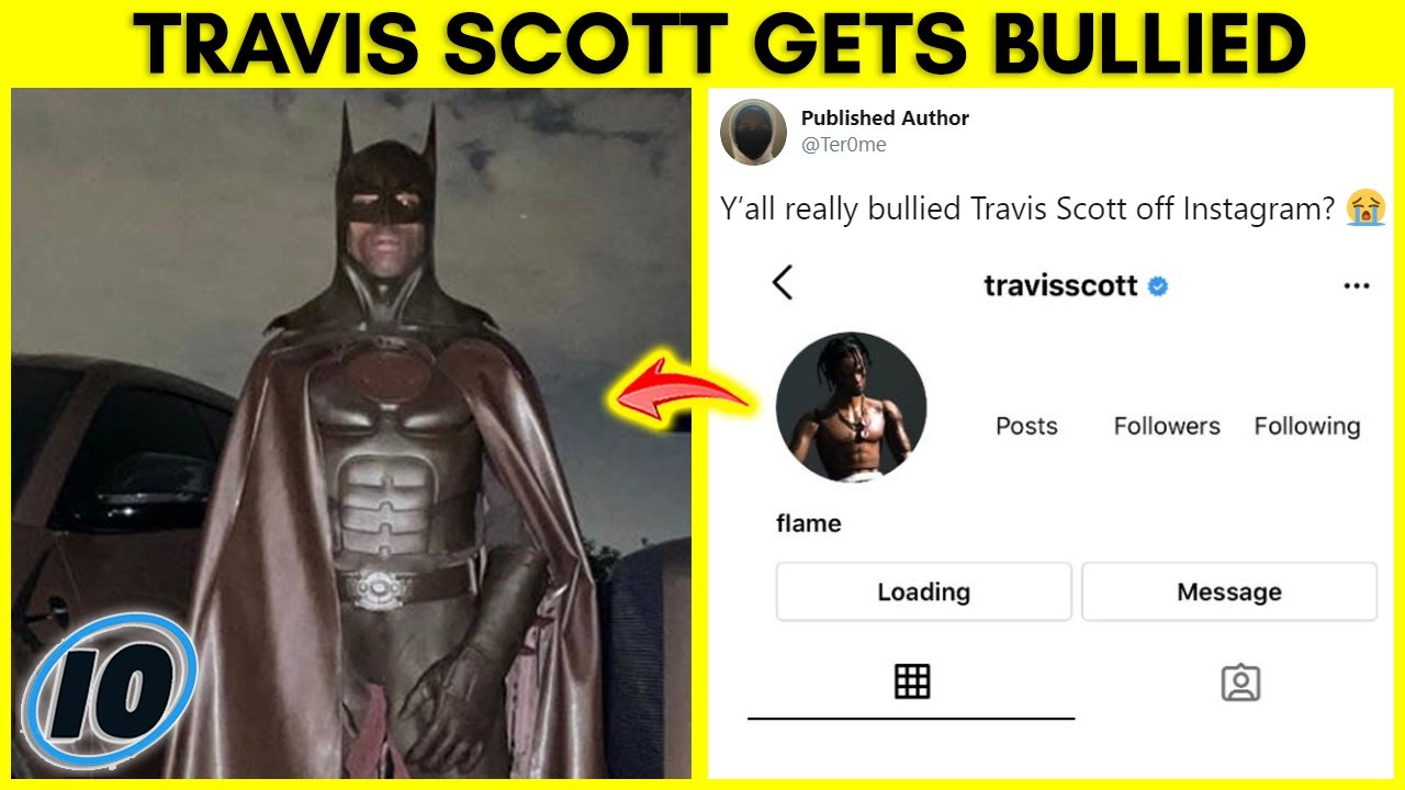 Travis Scott Deletes Instagram After THIS