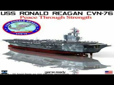 USS Ronald Reagan air wing completes certification