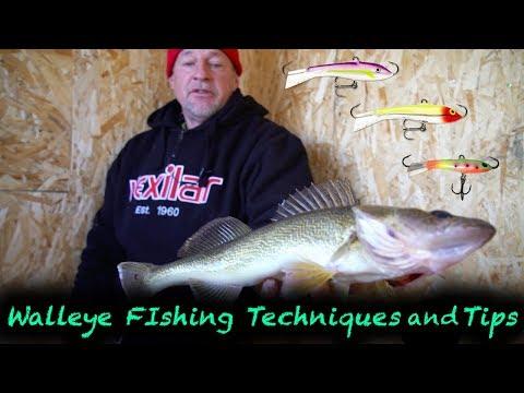 Midwinter Walleye Fishing Tips / Battlin' Bago