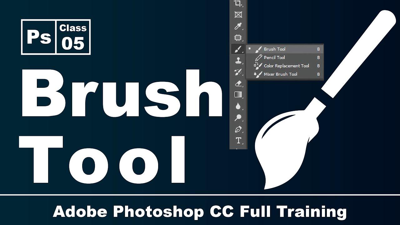 Adobe Photoshop CC   Brush Tool   Class 5   Pashto