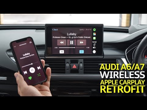 Audi A6 / A7 MIB2 Wireless Apple CarPlay Retrofit - YouTube