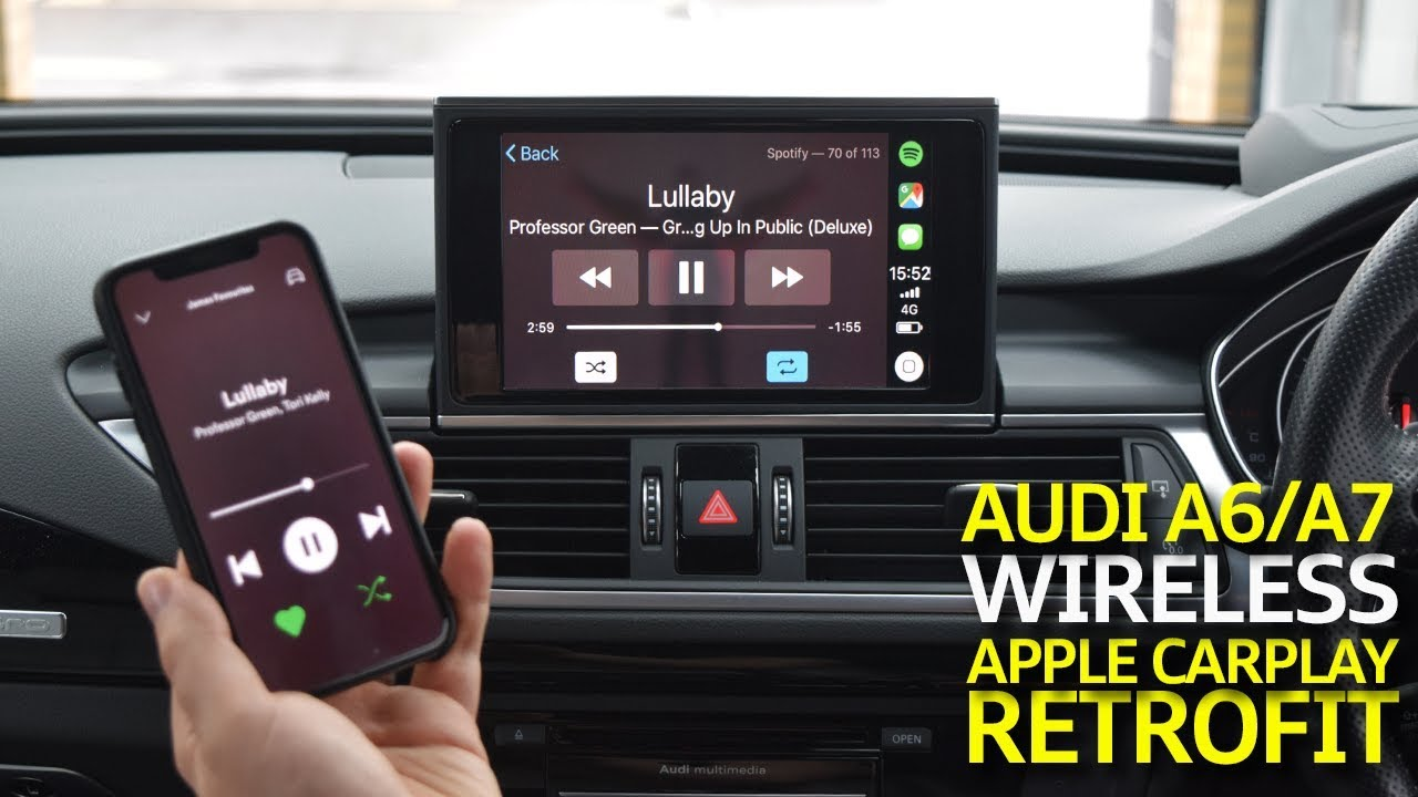 Audi A6 / A7 MIB2 Wireless Apple CarPlay Retrofit