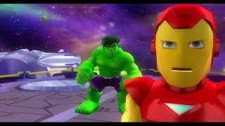 Xbox 360 Longplay [185] Marvel Super Hero Squad The Infinity Gauntlet