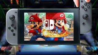 Leaked Smash 4 switch port Trailer