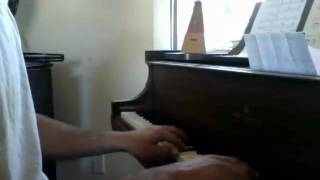 Chopin prelude.........me playing, extreme novice