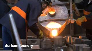 Durham Foundry - Cast Iron Castings - With Soundtrack