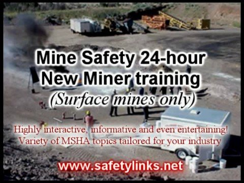 Mine Safety (24 Hour New Miner Training) Course