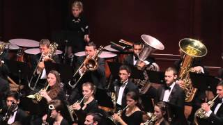 UMich Symphony Band -Leonard Bernstein - Overture to Candide