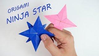 Origami Ninja Star - Origami Shuriken Tutorial (Henry Phạm)