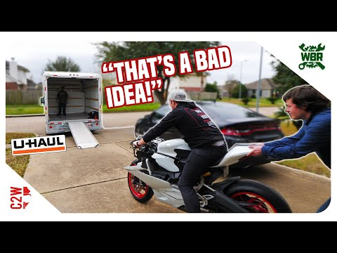 we-took-our-panigale-on-a-uhaul-truck!!-[wrecked-bike-rebuild---ep-02---2016-ducati-959-panigale]