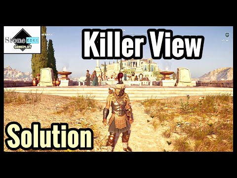 Assassin's Creed Odyssey – KILLER VIEW Guide / Solution / Location [Ainigmata Ostraka]