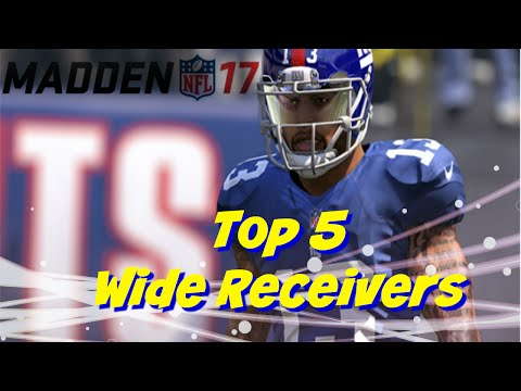Madden 17 News EA Sports Top 5 Wide Receivers Ratings   99 OVR Josh Norman Giveaway 1000 Sub Chase