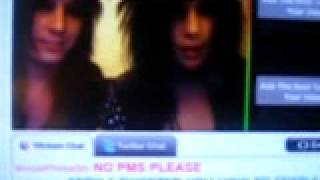 Jake Pitts and Andy Six having technical issues on stickam
