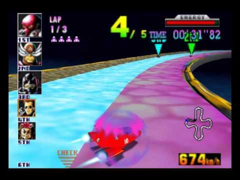 F-Zero X 64DD - Rainbow Cross (Custom Track)