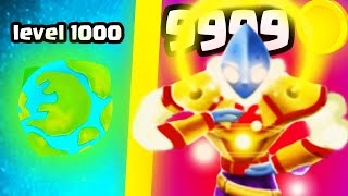 IS THIS THE MOST STRONGEST PLANET BOSS EVOLUTION? (9999+ LEVEL UPGRADE) l Human Evolution Update