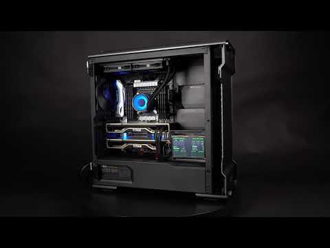 BIZON V5000 Design Demo - Intel Core I9 (up To 18 Cores)– Video Editing, 3D Rendering Workstation PC