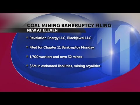 One Of The Country's Largest Coal Mining Groups Files For Bankruptcy