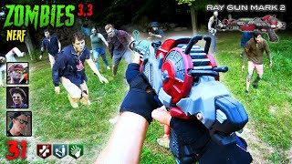 NERF meets Call of Duty ZOMBIES 3.3 | Nerf First Person Shooter!