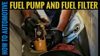 How to Replace the Fuel Pump and Filter on a 2000-2007 Ford Escape-Mazda Tribute