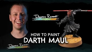 How to Paint: Darth Maul.