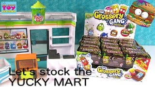 grossery Gang Blind Bag Opening Yucky Mart 2 Pack  PSToyReviews
