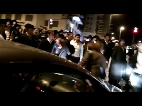 Female Israeli Soldier Ninja Moves on Ultra Orthodox Jewish Protesters   YouTube
