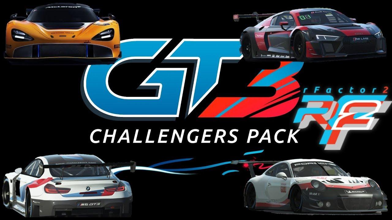 RFACTOR 2  GT3 CHALLENGERS PACK (SEBRING)[ ITA ᴴᴰ]