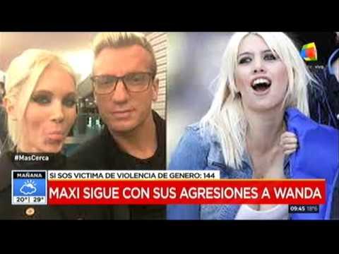 Maxi López vuelve a insultar a Wanda Nara