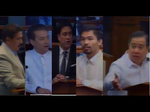 On Fixing Clark, Subic And Infrastructures Senator Gordon Speech Earns Support From Fellow Senators