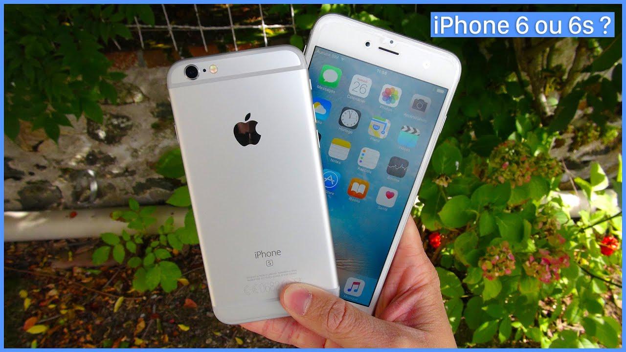 Iphone 6 ou iphone 6s quelles sont les diff rences youtube - Taille iphone 6 en cm ...