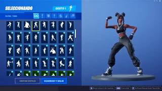 "Skin ""Luxury"" Dancing 111 Gestures - Fortnite"