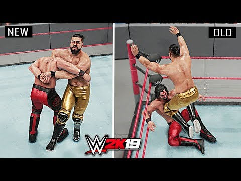 WWE 2K19 Top 10 New Finishers vs Old Finishers!! Part 4
