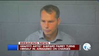 shepard fairey arrested charged in detroit response