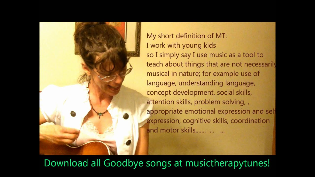 12 GOODBYE SONGS for Music Therapy & Education 4 Kids early childhood pre-k  & Kindergarten +
