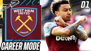 FIFA 21 West Ham Career Mode EP1 - NEW JOURNEY BEGINS!! LINGARDINHO TIME!!😍