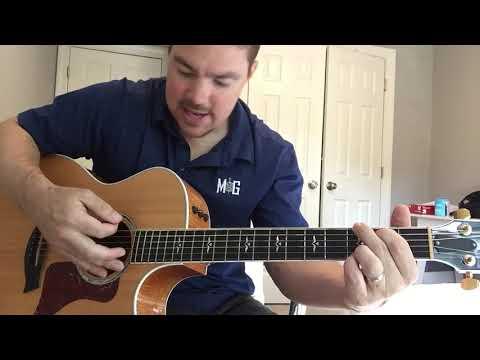 Diamonds or Twine | Ryan Hurd | Beginner Guitar Lesson