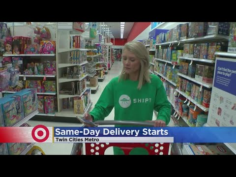 Target Officially Launches Same-Day Delivery In Twin Cities