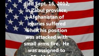 Tribute To Our Fallen Soldiers - US Army  Pfc. Genaro Bedoy, 20, of Amarillo, Texas.