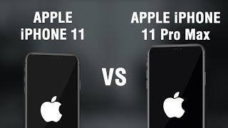 iPhone 11 vs iPhone 11 Max Specs Comparison